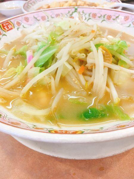 「ちゃんぽん」@餃子の王将 伊勢崎店の写真