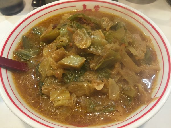「味噌タンメン+野菜大盛(780+60円)」@蒙古タンメン 中本 亀戸店の写真