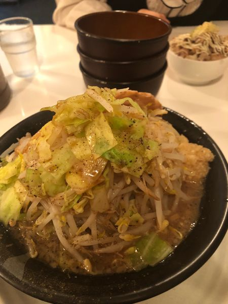 「野菜ラーメン」@麺屋 一心の写真