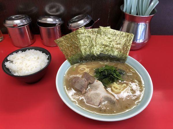 「ラーメン」@横浜家系ラーメン 心家の写真