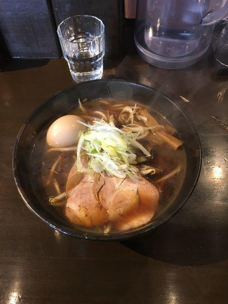 「醤油ラーメン」@らーめん桜倉の写真