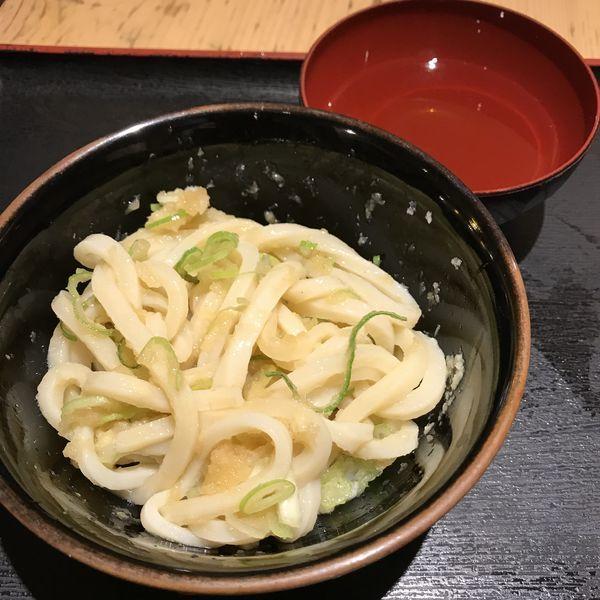「しょうゆ(小)(¥350)」@讃岐うどん大使 水道橋麺通団の写真