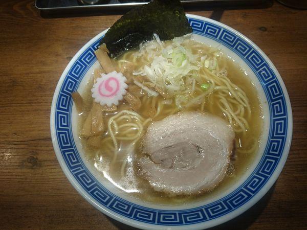 「醤油ラーメン」@麺屋 ふじ田の写真