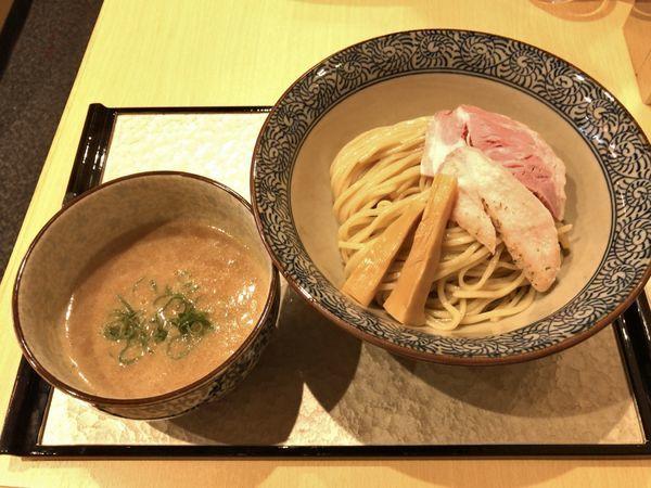 「濃厚鶏つけ麺」@濃厚鶏そば 葵の写真