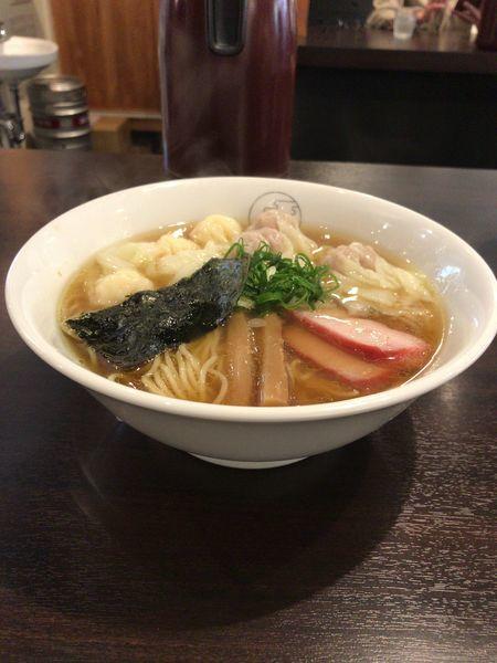 「特製ワンタン麺 ¥1000」@八雲の写真