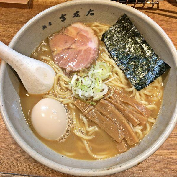 「味玉らーめん(大盛)¥1000」@麺屋吉左右の写真