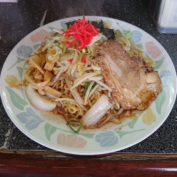 「ソースラーメン  @680円」@いとう食堂の写真