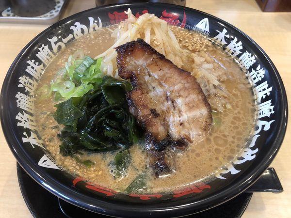 「味噌ラーメン」@らーめん 源之丞の写真