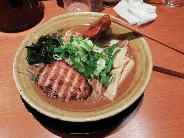 「麦丸味噌」@焙煎味噌ラーメン 寿宝丸の写真