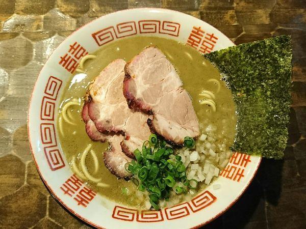 「【限定】濃厚煮干そば」@特級鶏蕎麦 龍介の写真