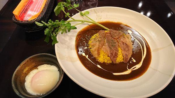 「天空のカレーライス(シングル=但馬牛少なめ) 1000円」@TOKYO美食伝説 PapiPopiの写真