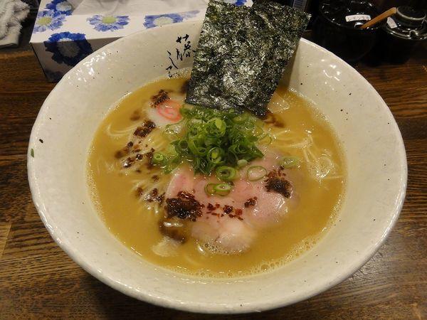 「濃厚鶏白湯 ラーメン 750円」@麺屋 藤しろ 目黒店の写真