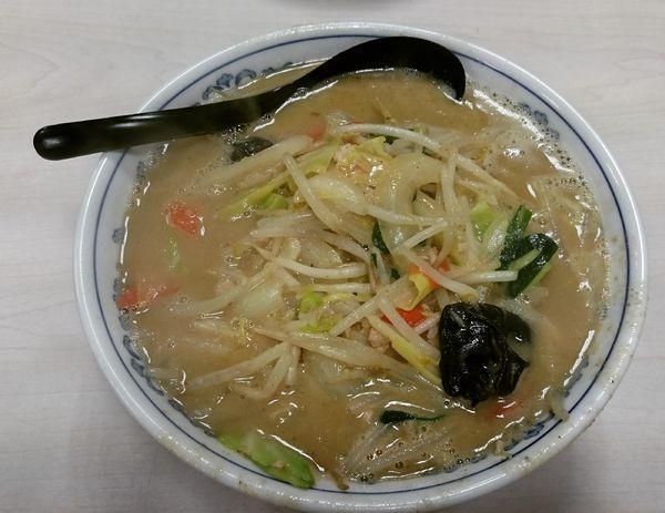 「味噌麺 830円」@気むずかし家の写真