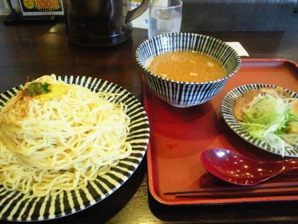 「鯛だしつけ麺 750円、大盛 50円」@めんや 薫寿 弐番屋の写真