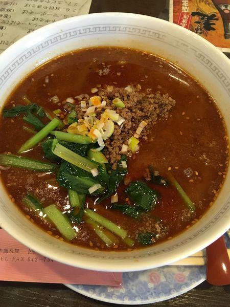 「四川名物ゴマ辛しそば(担々麺)」@四川菜館の写真