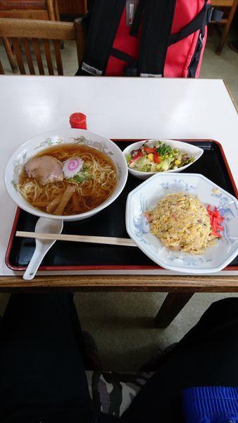 「チャーハンセット」@菊屋食堂の写真