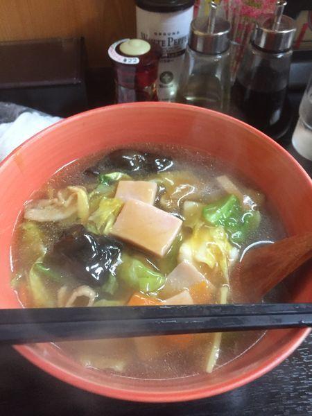 「五目そば」@中国料理 銀扇の写真