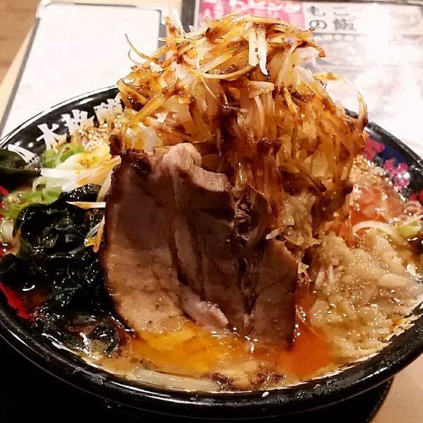 「辛ネギ味噌らーめん 890円」@らーめん 源之丞の写真
