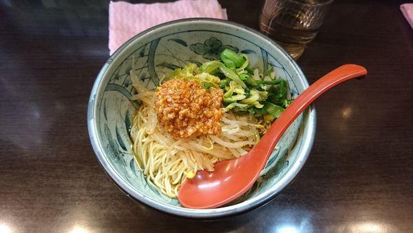 「汁なし担々麺700」@めだかTANTANの写真