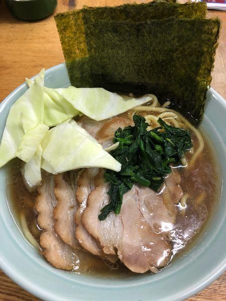 「チャーシュー麺並、硬め濃いめ」@じぇんとる麺の写真