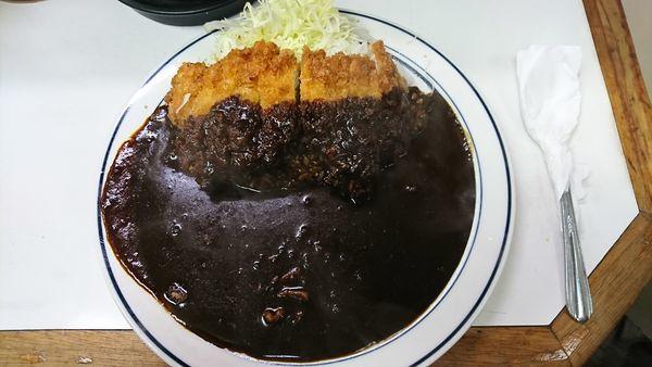 「カツカレー 750円」@キッチン南海 本店の写真