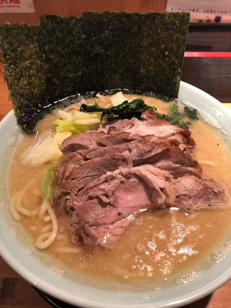 「チャーシュー麺並、硬め濃いめ」@山下醤造の写真