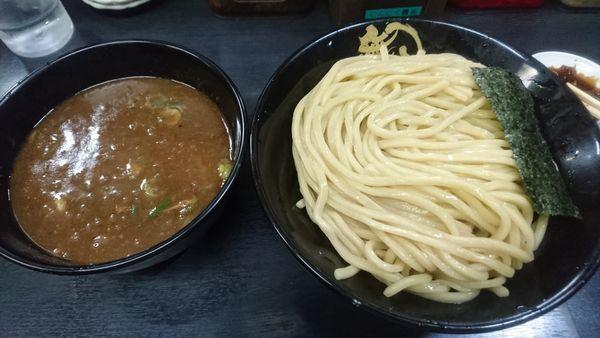 「濃厚豚骨つけ麺」@無鉄砲 つけ麺 無極の写真