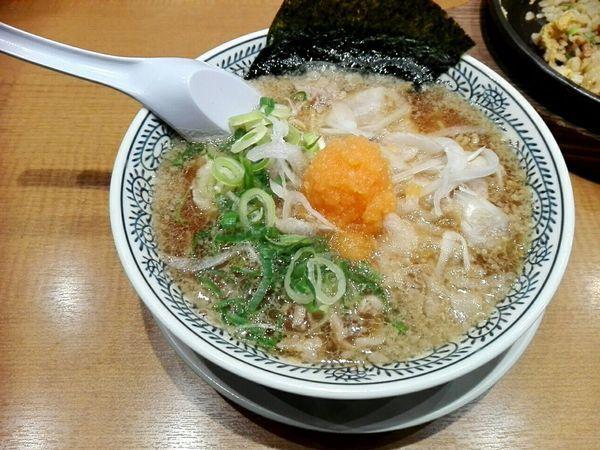 「肉そば」@丸源ラーメン 足利店の写真