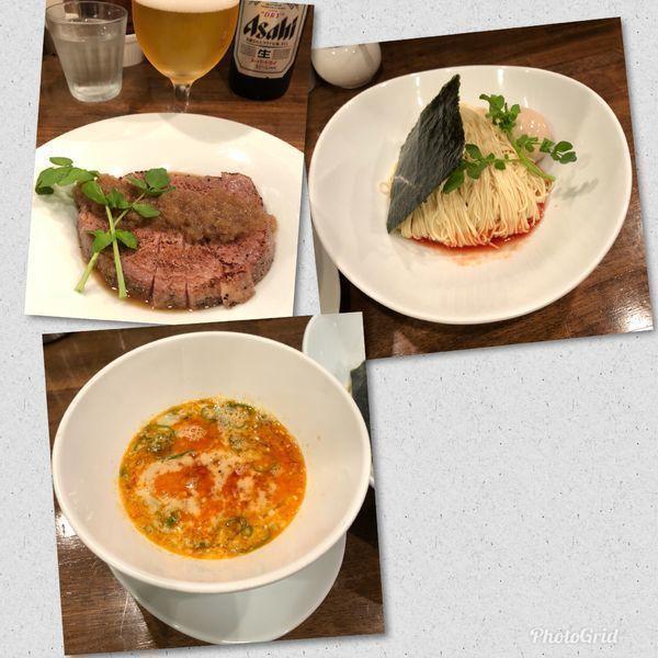 「担担つけ麺 ¥930 and so on」@創作麺工房 鳴龍の写真