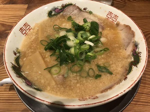 「チャーシュー麺」@ますたに 京都駅ビル拉麺小路店の写真