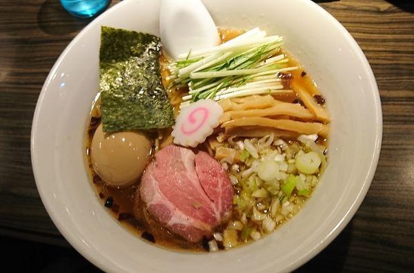 「鶏旨味味玉らーめん(780円)」@麺屋 ほたるの写真