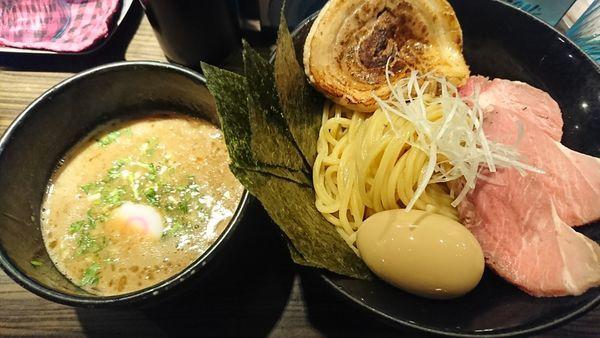 「魚介豚骨特製つけめん(1000円)」@麺屋 ほたるの写真