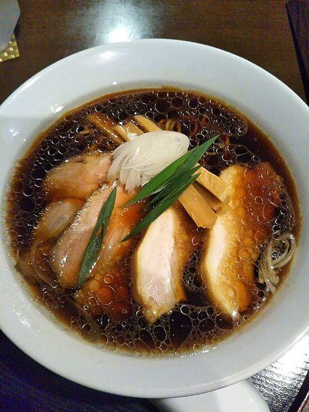 「たまり醤油らぁ麺 780円」@長野らぁ麺 さくら木の写真
