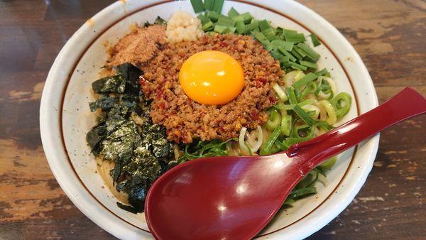 「台湾まぜそば大盛(麺250g)」@麺屋 やまひで 奈良本店の写真