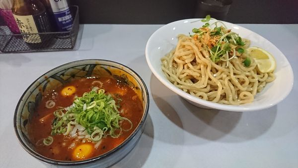 「辛つけそば 中盛 ¥830」@コマツ中華蕎麦店の写真