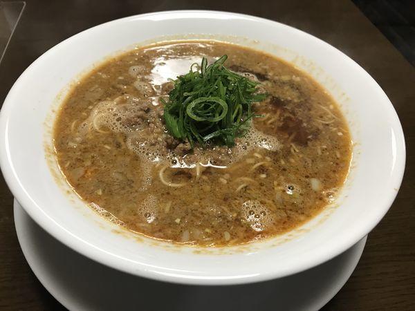 「担担麺 780円」@柳麺 多むらの写真