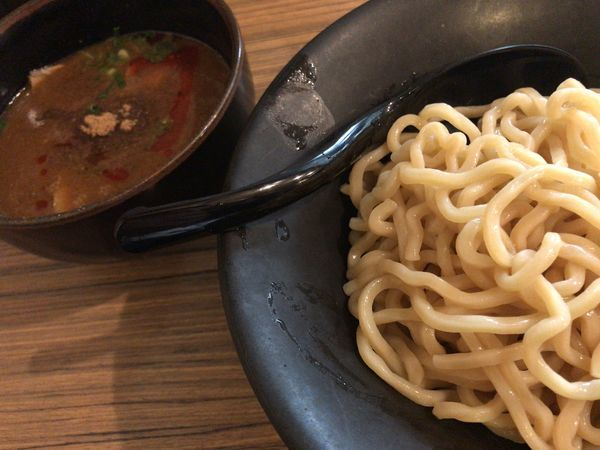 「吟醸つけ麺 味噌(並)+替麺(一人前)」@吟醸らーめん 久保田 本店の写真