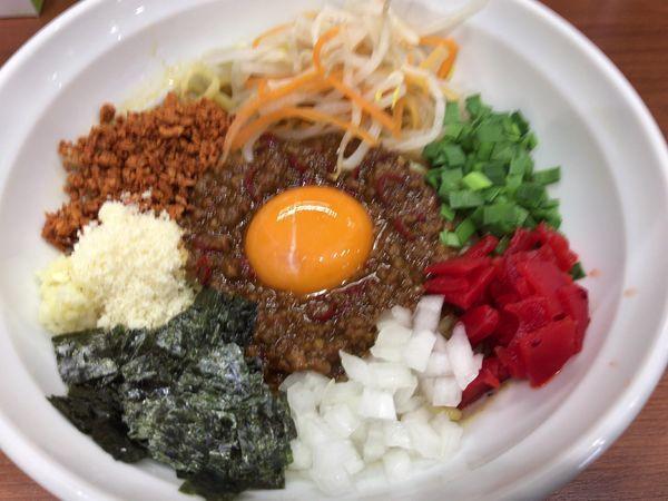 「カレー台湾まぜそば800円」@麺厨房 武蔵の写真