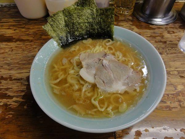 「ラーメン 700円 麺硬め」@まこと家の写真