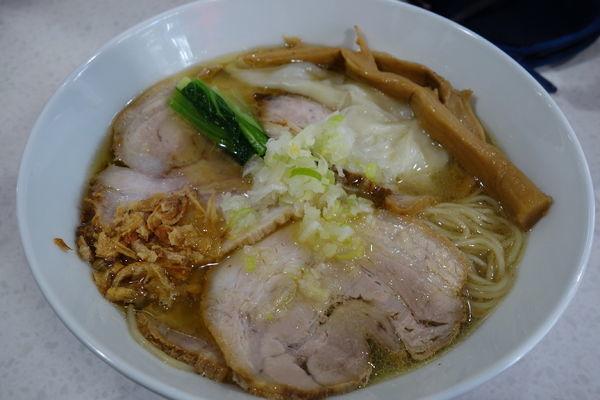 「【限定】想いの塩らぁ麺」@ラーメン星印の写真