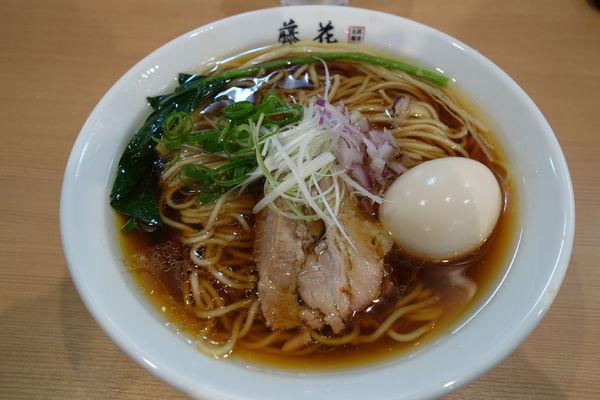 「味玉 醤油らぁ麺」@支那蕎麦屋 藤花の写真