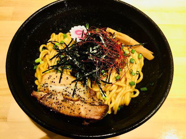 「コテ辛そば¥780+麺大盛¥100+レモンサワー¥380」@油そば専門店 斬の写真