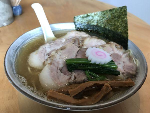 「塩叉焼麺」@だし・麺 未蕾の写真