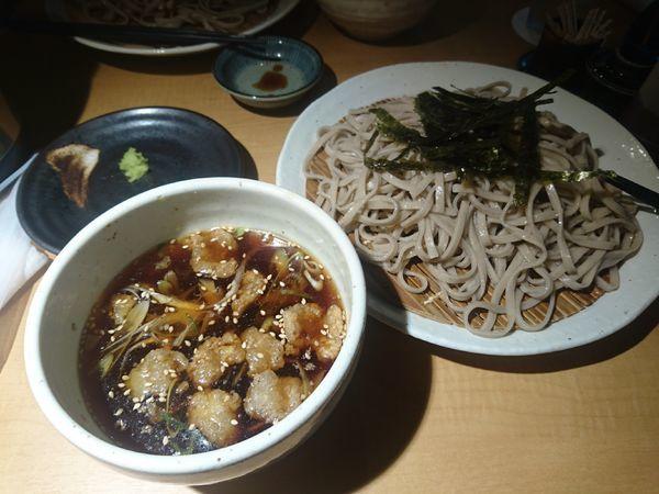 「もりつけ蕎麦」@神田 つけ蕎麦 わびすけの写真