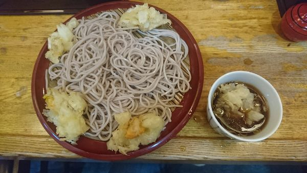 「かき揚げ蕎麦」@歌舞伎そばの写真