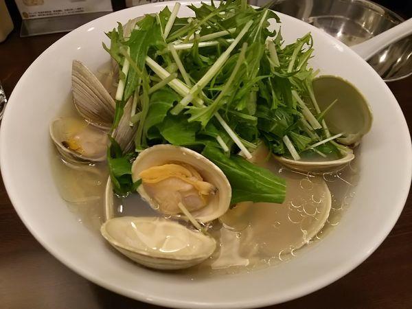 「濃厚貝出汁ホンビノスラーメン」@URA963の写真