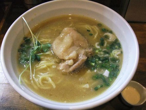 「鶏エスプレッソらーめん(780円)」@麺屋33の写真