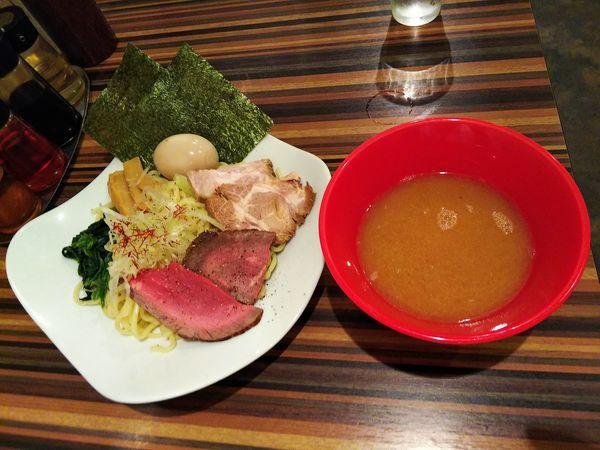 「つけ麺全部のせ 太麺」@RAMEN DINING JinGuの写真