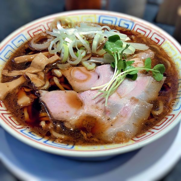 「サバ醤油そば」@サバ6製麺所 西中島南方店の写真
