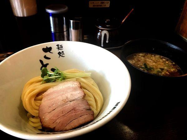 「濃厚魚介豚骨つけ麺」@麺処 さとうの写真